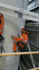 Non-destructive Testing via Rope Access - Ropepro High