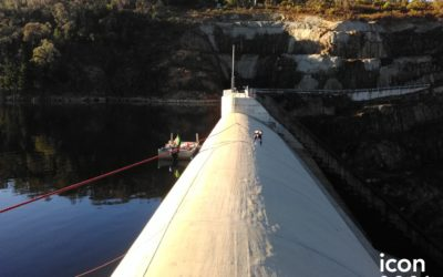 Cotter Dam Spillway Maintenance