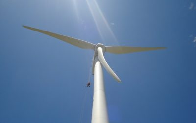 Wind Turbine Anchor Point Inspection
